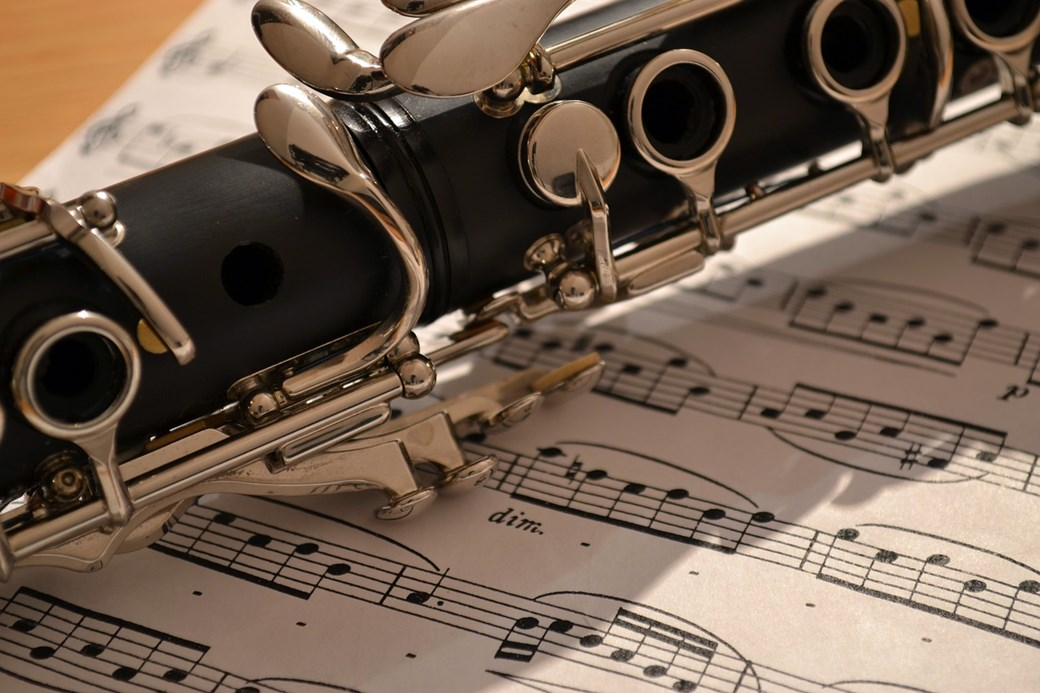 Klarinette und Noten
