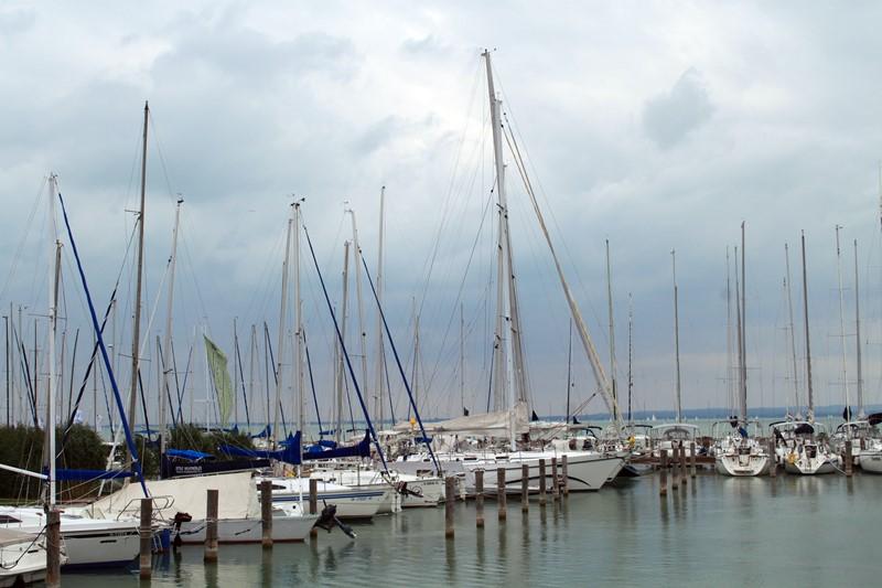 Segelboote auf dem Balaton, Foto: Sebastian Starke