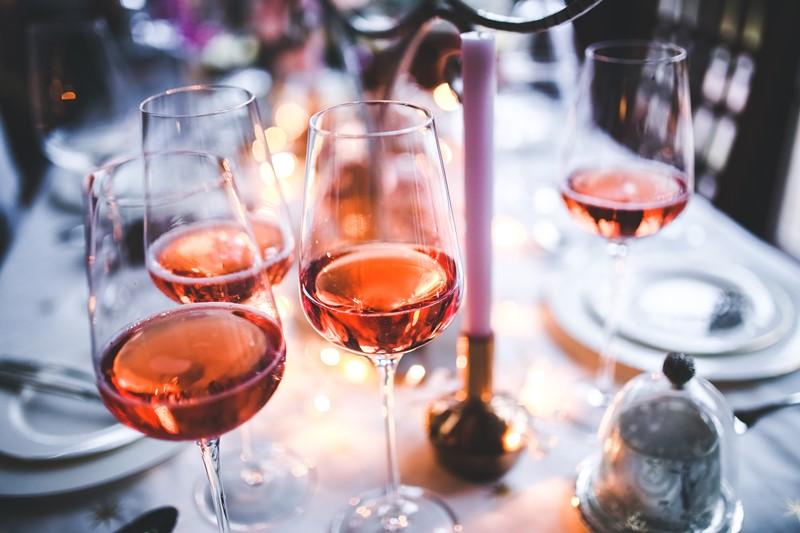 Rosé-Weingetränk